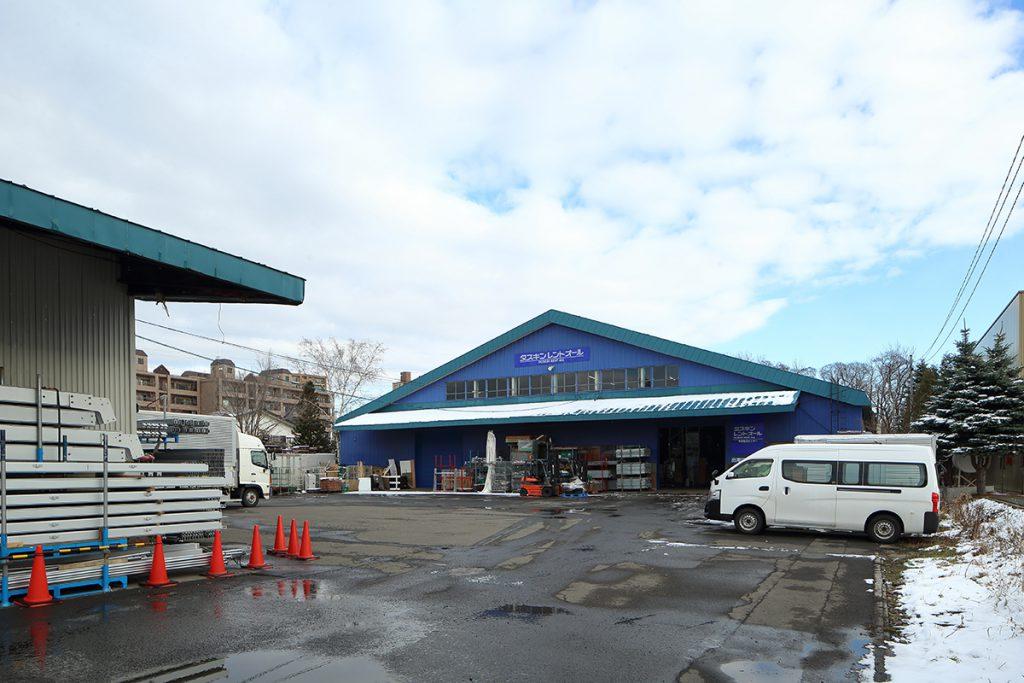 ダスキンレントオール札幌平岡物流センター